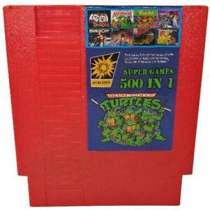 Cartridge Multi Cart 500 in 1 Games Card Nintendo Entertainment System NES PAL