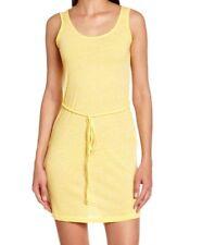 Bench Womens Festive Summer Dress Bright Yellow Scoop Neck Bnwt Mini Short New S