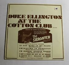 DUKE ELLINGTON At The Cotton Club LP Tax Rec M-8001 SW M SEALED 12B