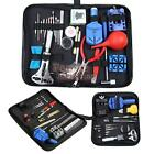 Watch Link Opener Remover Holder Kit Case Set Pin Screwdriver Watch Repair Tool