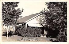 Madison-on-the-Lake Ohio~Badgers Cottage~Sue & Bryan's~1930s Real Photo~Rppc