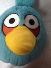 Angry Birds Blue Jay Plush! 5 Inches Stuffed Animal Toy Lovey No Sound