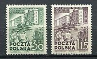 35608) Poland 1951 MNH New Six Years Plan 2v