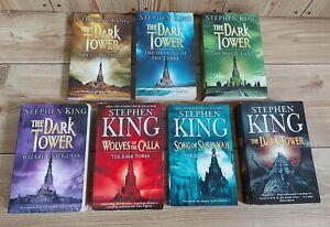 The Dark Tower Novels Books 1-7 Stephen King Paperback