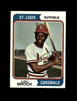 1974 Topps Baseball #60 Lou Brock (Cardinals) NM+