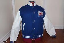 Vintage MAPLE LEAF CHIPS Wool VARSITY JACKET ** Size M Canada RARE L@@K