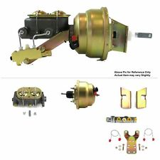 "1960-62 Chevy Truck Firewall Mount Power 8"" Dual Brake Booster Kit Disc/Disc V8"