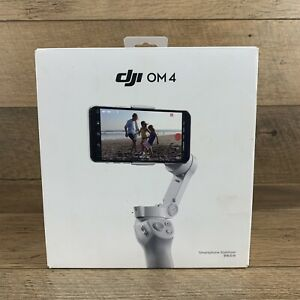 Open Box* DJI OM 4 Gimbal Stabilizer +Tripod + Pouch + Magnetic Clamp US SELLER