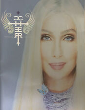 CHER * FAREWELL TOUR PROGRAMME w/ $10,000 BILL * 2004 * HTF! * LIVING PROOF