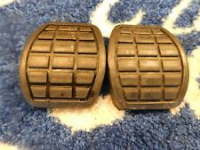 FORD ESCORT MK1 BRAKE AND CLUTCH PEDAL RUBBER PADS