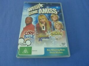 Wish Gone Amiss DVD Cory in the House / Zack & Cody / Hannah Montana R4 Postage