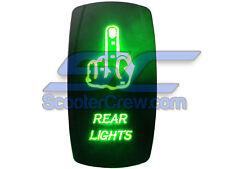 Polaris RZR Green Middle Finger Rear Switch UTV 900 800 RZR4 Crew XP 1000 Ranger
