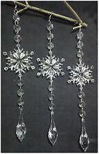 6pcs DIY Wedding Party Decor Acrylic Crystal Beads Garland Chandelier Hanging 03