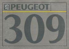 Peugeot 309 1992 Full Colour 32pg Sales Brochure NOS (new old stock)