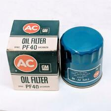 ACDelco PF40 Old AC GM 6439929 Oil Filter NOS For 1970s Chevette LeSabre Skylark