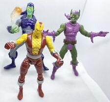 Green Goblin Shocker Marvel Spider-Man Villains Action Figure Lot No Legends