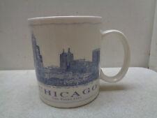 2007 STARBUCKS CHICAGO ARCHITECT ARCHITECTURE SERIES CERAMIC COFFEE MUG