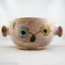 Céramique Bol à Oreilles MC TREINEN à VALLAURIS 50' Vintage ceramic bowl/cerenne