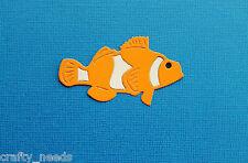 10PC - CLOWN FISH Nemo  Paper DIE Cuts  Scrapbooking - NOT a DIE