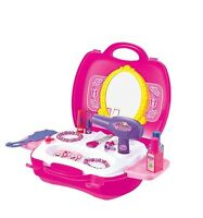 16pc Girls Hairdressing play set dress up role play in case gift  princess