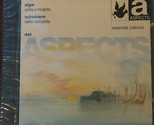 Aspects Elgar Schumann Cello Concertos CD Sealed Mint Order DDD 57 mins Markiz