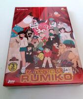 "DVD ""EL TEATRO DE RUMIKO"" 3DVD RUMIKO TAKAHASHI CON FUNDA CARTON SERIE COMPLETA"