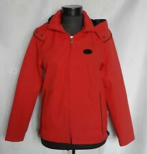 VINTAGE AUTHENTIC PRADA MILANO RED COTTON BLEND GIRLS HOODED JACKET:SIZE M
