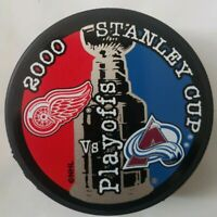 2000 STANLEY CUP PLAYOFFS DETROIT RED WINGS VS COLORADO AVALANCHE NHL PUCK