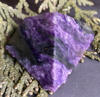 31g GENUINE RAW PURPLE CHAROITE CRYSTAL HEALING SPECIMEN Reiki Charged  RUSSIA