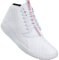 JORDAN ECLIPSE CHUKKA MEN´S BASKETBALL RUNNING SHOES WHITE/GYM RED 881453 101