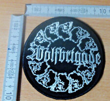 WOLFBRIGADE RARE ROUND WOVEN PATCH SLIME GG ALLIN DOOM NAPALM DEATH VICTIMS