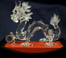SWAROVSKI CRYSTAL The Dragon Fabulous Creatures SCS 1997 DESIGN GABRIELE STAMEY