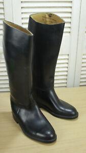 Aigle Coupe Saumur Cree Pour Black Horse Riding Boots Size UK6 EU40 S – VGC