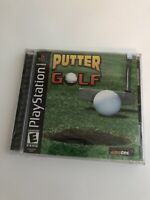 Putter Golf (Sony PlayStation 1, 2001) PS1 Black Label Brand New