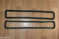 Land Rover Series 2, 2a, 3 Defender Bulkhead Vent Flap Rubber Seals MUC4299 x 2
