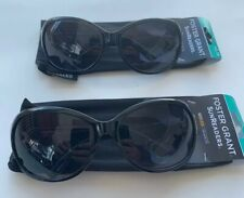Lot of 2 - Foster Grant Latte Black Bifocal Sun Reader Glasses +2.75 New
