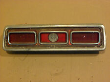 1967 PONTIAC LEMANS USED LEFT RIGHT TAILLIGHT PASSENGER DRIVER TAIL LIGHT 67 OEM