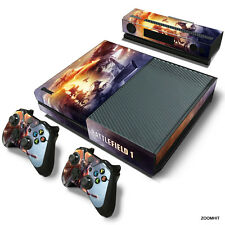 Xbox One Console Skin Decal Sticker Battlefield 1 + 2 Controller & Kinect Skins