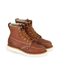 Men's Thorogood 6″ TOBACCO MOC TOE Wedge Sole Work Boot - 814-4200