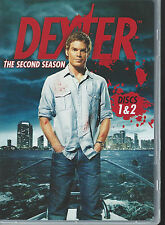 DEXTER The Second Season - Discs 1&2 (DVD 2008) - 2 DVD