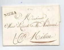 Prefilatelica prephilatelic 1829 da Nizza per Milano
