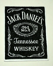 Vintage Jack Daniels Old No.7 Tennessee Whiskey 2000s Cloth Jacket Patch NOS New