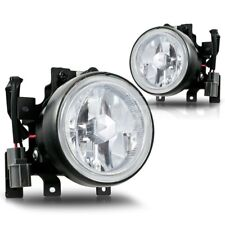 For 2003-2006 Honda Element Clear Lens Chrome Housing Replacement Fog Light Lamp