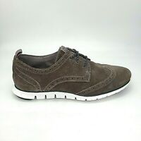 Cole Haan ZeroGrand Suede Wingtip Shoes Womens 8B Leather Brogue Sneaker W01273