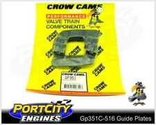 """Crow Cams Guide Plates for Ford V8 302 351 Cleveland Hardened 5/16"""" Pushrods"""