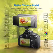 Eyoyo 5 Inches Ultra FHD On-Camera Monitor E5 4K For DSLR Canon Panasonic Nikon