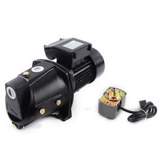 New listing High Pressure 1 Hp Water Jet Pump 750W 17.5Gpm 110V Self-Priming Pump For Garden