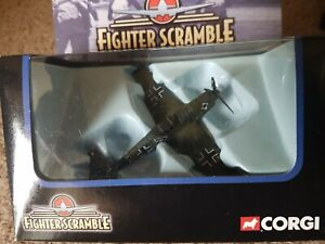 Corgi fighter scramble, BF109 Messerschmitt Luftwaffe,