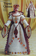 Crochet Pattern Only ~ Barbie Topaz Queen ~ Game of Thrones, Theater, Fashion