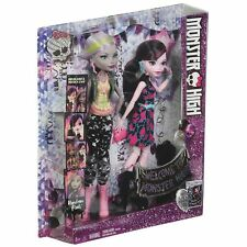 Monster High DVD Entertainment Draculaura & Moanica 2 Dolls Gift Set